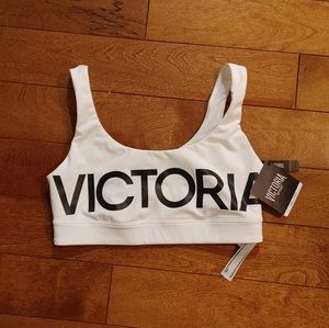 NWT Victoria Sport racerback bra size small